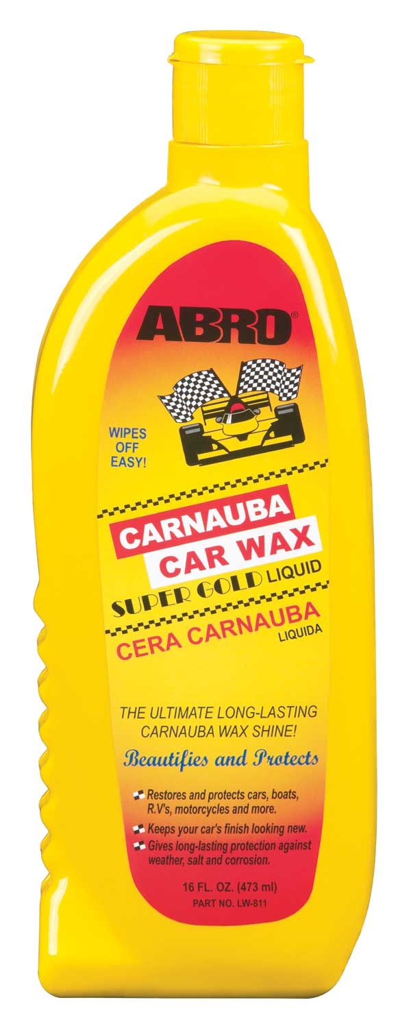 ABRO Carnauba Car Wax Υγρό Κερί 473 ml